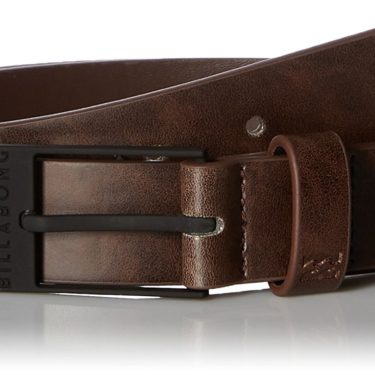 billabong vegan leather belt